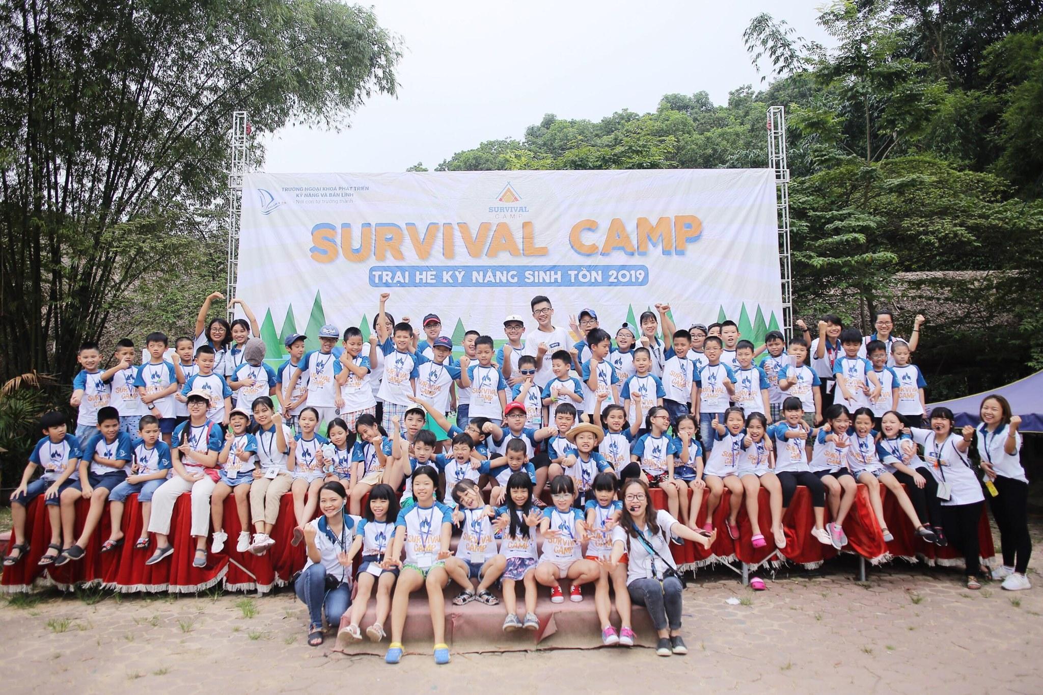 """Survival Camp - Trại hè kỹ năng sinh tồn 2019 """"Tự lập để bứt phá"""""""