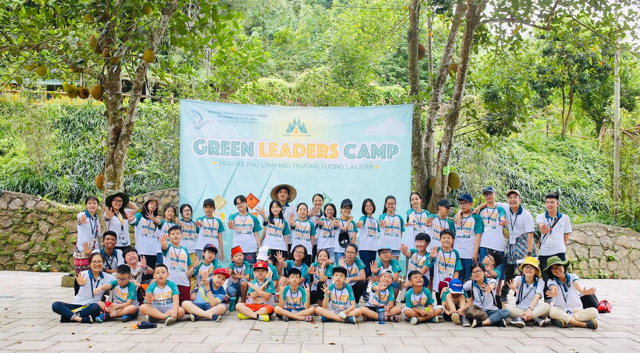 Green Leaders Camp - Trại hè phát triển Lãnh đạo trẻ 2019